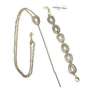 Lucky Brand Necklace & Bracelet